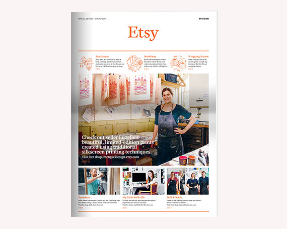 Etsy Newspaper